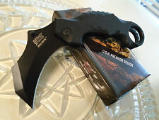 "Mtech Xtreme Assisted Open Karambit Claw HD Pocket Knife G10 MX-A815BK 7 3/4"" Op"