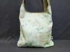 Auth HUNTING WORLD LightGreen Nylon Shoulder Bag