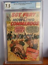 Sgt. Fury and His Howling Commandos #3 CGC 7.5