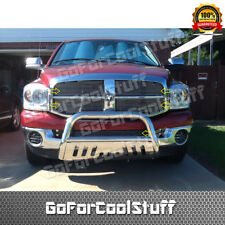 FOR 2006 2007 2008 DODGE RAM BILLET GRILLE GRILL INSERT COMBO UPPER+BUMPER SET