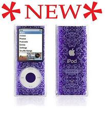 IClear Sketch SeeThru Hard Case for iPod Nano 4G