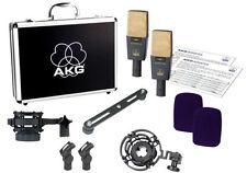 AKG C414 XL II Stereo Set Vocal Condenser Microphone (Matched Pair) U.S. Dealer