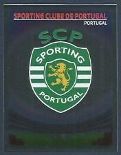 PANINI UEFA CHAMPIONS LEAGUE 2007-08- #400-SPORTING LISBON TEAM BADGE-FOIL