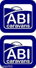 ABI CARAVAN DÉCALCO AUTOCOLLANTS CHOIX DE COULEURS PEUT ÊTRE FABRIQUÉ IN