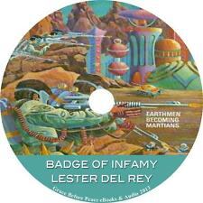 Badge of Infamy, a Lester Del Rey Sci-Fi Action Adventure Audiobook on 1 MP3 CD