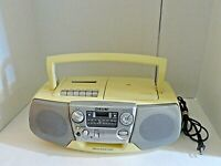 Sony CFD-V17 AM/FM Radio CD Cassette Recorder Boombox with Mega Bass Port