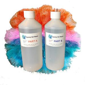 EPOXY RESIN - ART Resin  - UV STABLE - 200g,500g,1kg & 2kg Kits