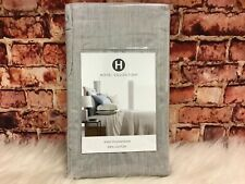 Hotel Collection 525 Tc Cotton Dyed King Pillow Sham Ash