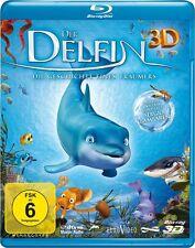 3D Blu-ray * DER DELFIN - DIE GESCHICHTE EINES TRÄUMERS  - 3 D  # NEU OVP %
