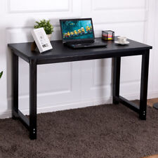 47'' Computer Desk PC Laptop Table Study Writing Workstation Home Office Black