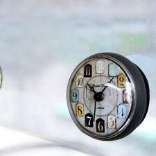 Résistant à l'eau Salle De Bains Bain Douche Horloge Horloge Murale