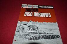 Massey Ferguson 25 39 68 Disc Harrow Dealer's Brochure DCPA