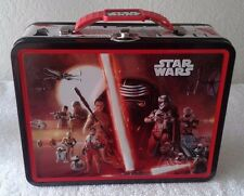 Star Wars The Force Awakens Kylo Ren Tin Lunch Box Carry All Storage Metal Box