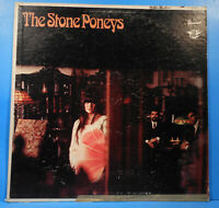 THE STONE PONEYS SELF VINYL LP 1967 MONO ORIGINAL PRESS NICE CONDITION VG/VG!