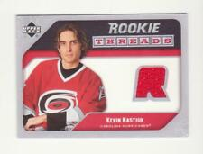 2005-06 UD Series 2 Kevin Nastiuk Rookie Threads Jersey Card # RT-KN (05-06) Red