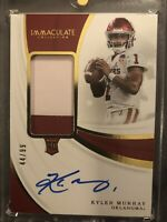 2019 Immaculate Collegiate RPA Kyler Murray 2-Color Rookie Patch Auto (44/99)