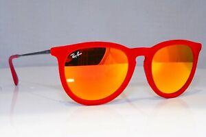 Ray-Ban RB 4171 6076/6Q Erika Sunglasses Red Velvet/Mirrored Orange