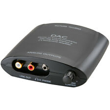 Digital to Analog Audio Converter Optical / Coaxial / USB