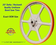 "2 Urethane Band Saw Tires for 20"" Delta 28-365 Type 1 -Rplcs Part # 426040945002"