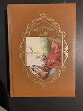 The Adventures of Huckleberry Finn by Mark Twain  Longmeadow  VG/EX 1985 Leather