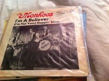 Monkees/ Im a believer/ steppin stone/ germany?  66  PS