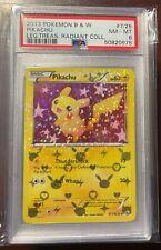 2013 Pokemon Bw Legendary Treasures Radiant Collection Pikachu 7 Psa 8 Nm