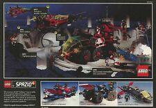 X2834 LEGO Spazio - Veicolo magnum Polizia spaziale - Pubblicità 1990 - Advert.