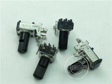 4pcs Alps Japan 9mm Mixer Potentiometer Single B20k Rk09 Slotted Shaft 5 Pin