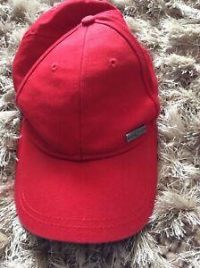 Henri Lloyd Baseball Cap . Nice Super Red Cap