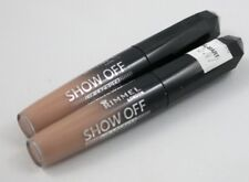 New Rimmel Show Off Lip Lacquer Lipcolor-600 Nude Eclipse