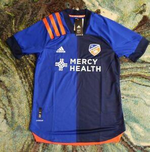 2020/2021 FC Cincinnati (Small) Home Blue Authentic Aeroready Jersey EH8678 NWT