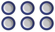 Flirt By Ritzenhoff & Breker DOPPIO Indigo-blau Suppenteller-set 6tlg.