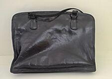 GORGEOUS VINTAGE SHINY LEATHER BLACK BOTTEGA VENETA PURSE SHOULDER BAG SS98