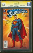 Superman 34 CGC SS 9.8 John Romita Sr 1st Machinist Key 2014 Variant