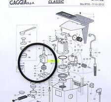Gaggia Classic Baby Evolution, Boiler Gasket Seal O-Ring - DM0041/082 - EPDM