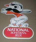 National Bohemian Beer Mr Natty Boh Baseball Metal Tin Sign Baltimore Orioles