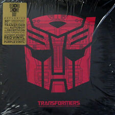 Transformers The Movie etched red & purple 2LP Vinyl RSD foldout sleeve new