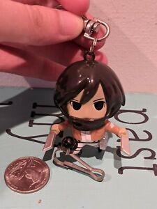 Attack on Titan Mikasa Ackerman Keychain Figure