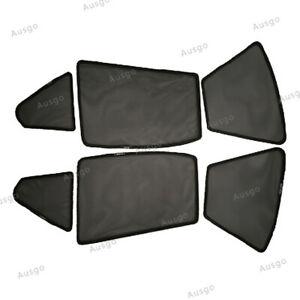 AUS Foldable Magnetic window Mesh Sun Shade for BENZ C-Class W204 sedan 6PCS