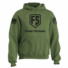 First Strike Hoodie Olive Drab - Xx-Large - Paintball