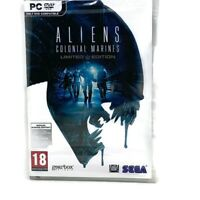 Aliens: Colonial Marines PC DVD Game NEW Sealed