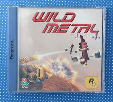Wild Metal (Sega Dreamcast, 2000, Keep Case, Rockstar Games)