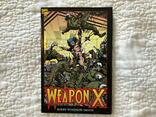 Weapon X hardcover Barry Windsor Smith Wolverine first edition Marvel Presents