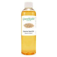 4 fl oz Sesame Seed Carrier Oil (100% Pure & Natural) - GreenHealth