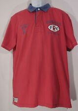 Ruckfield by Sebastien Chabol Weare Rugby Polo Size XL  100% cotton