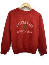 Vintage 90s Beverly Hills Rodeo Drive Rolls Royce Crewneck Sweatshirt Medium