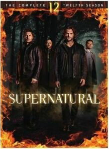 Supernatural Season 12 Complete Twelfth Year 2017 DVDs 6 Discs 10% To Charity