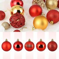 32 Pieces Christmas Xmas Tree Ball Bauble Home Party Ornament Hanging Decor 40mm