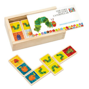 The Very Hungry Caterpillar Wooden Dominoes   Wooden Picture Matching Puzzle