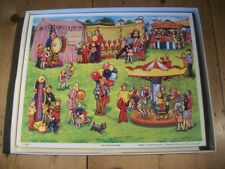 Victory Wooden Jigsaw Puzzle - Fairground Fit- In Picture